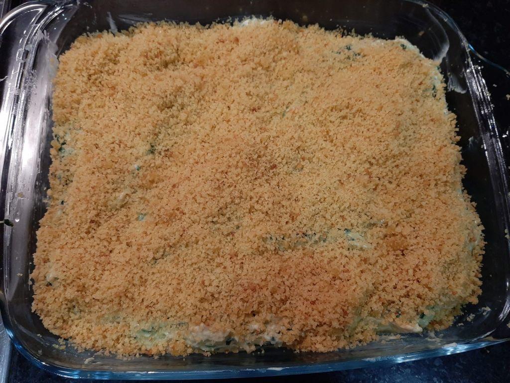 Bacalhau com Espinafres e Cenoura
