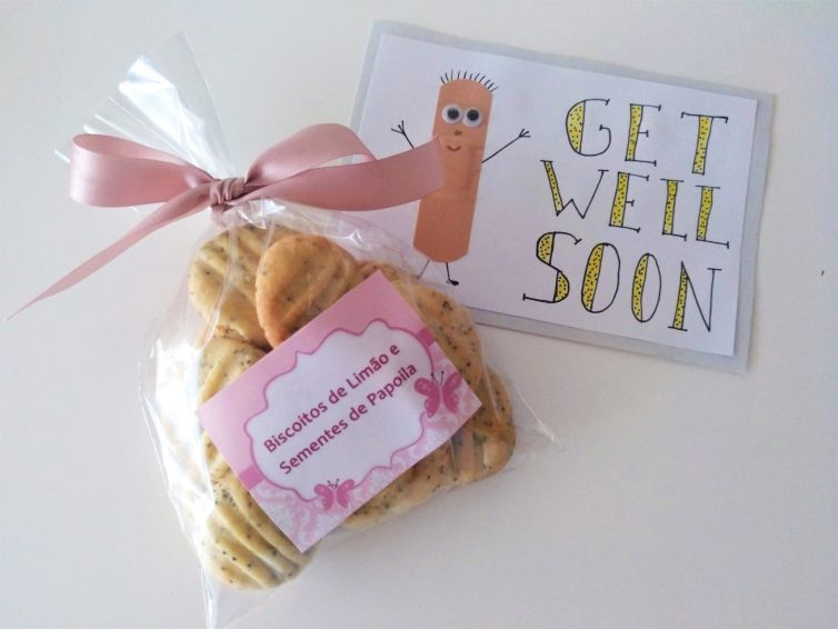 Biscoitos Get Well Soon
