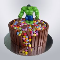 Bolo de Aniversário Hulk