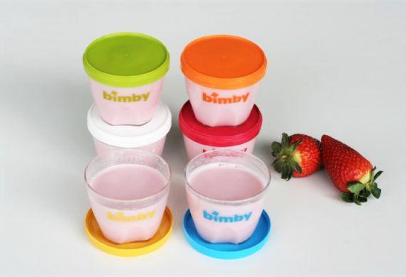 Iogurtes de Gelatina