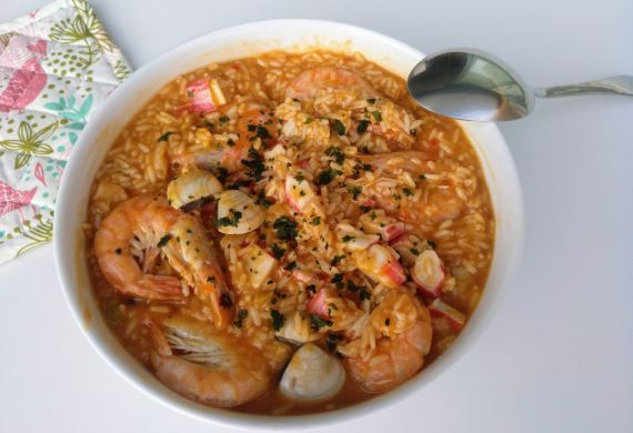 arroz de marisco